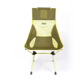 Helinox Sunset Chair green block/melon
